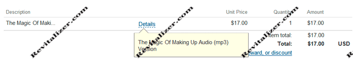 mp3 audio version the magic of making up